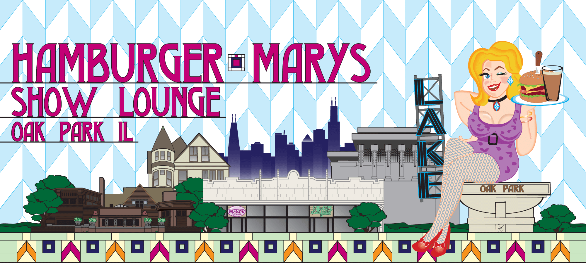 Hamburger Mary's Oak Park Show Lounge